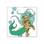 1077h5747cartoonmermaid.png Square Sticker 3