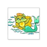 1060h1230kittymermaid.png Square Sticker 3