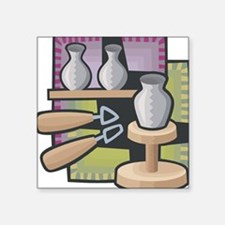"""21547020potter.png Square Sticker 3"""" x 3"""""""