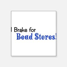 "brakebumpersticker.png Square Sticker 3"" x 3"""