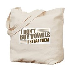 Can I Steal a Vowel? Tote Bag
