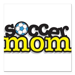 32447696soccermom.png Square Car Magnet 3
