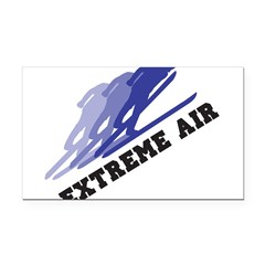 32542531extremeairskier.png Rectangle Car Magnet