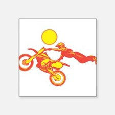 """32372984dirtbike.png Square Sticker 3"""" x 3"""""""
