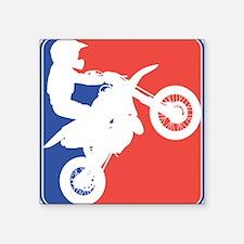 "32150966peeweecrossdirtbike.png Square Sticker 3"""