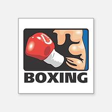 """Boxing Square Sticker 3"""" x 3"""""""