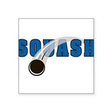 "33038532squash.png Square Sticker 3"" x 3"""