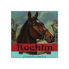 """Rocklin Square Sticker 3"""" x 3"""""""