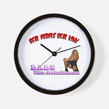 BVP Wall Clock
