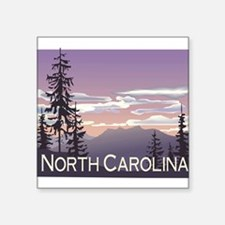 "1074h5406smokymountains.png Square Sticker 3"" x 3"""