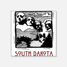 "southdakota20632862.png Square Sticker 3"" x 3"""