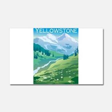 1074h5411mountainstream.png Car Magnet 20 x 12