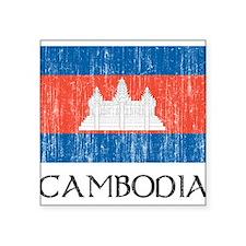 """cambodia00200022447.png Square Sticker 3"""" x 3"""""""