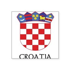 Coat_of_arms_of_Croatia22 DARK.png Square Sticker
