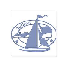 """tallinn1075h1864.png Square Sticker 3"""" x 3"""""""