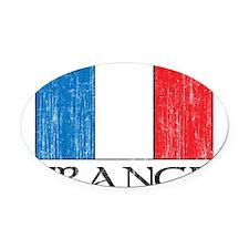 1663164France.png Oval Car Magnet