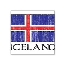 "1663200Iceland.png Square Sticker 3"" x 3"""