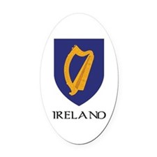 Coat of arms of Ireland Oval Car Magnet