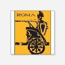 "32264376roma.png Square Sticker 3"" x 3"""