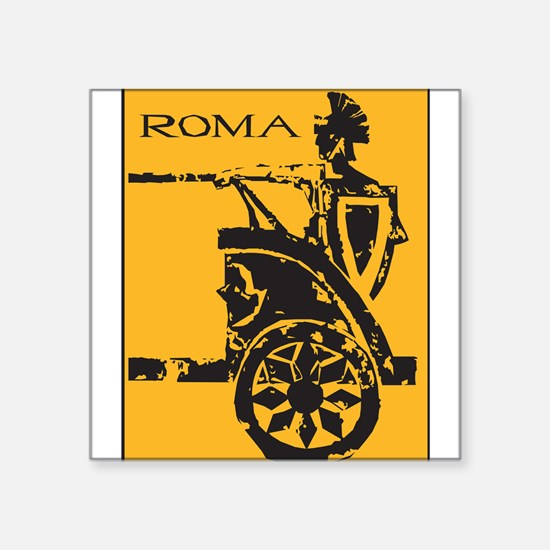 """32264376roma.png Square Sticker 3"""" x 3"""""""