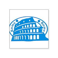 "romestamp1075h1874.png Square Sticker 3"" x 3"""