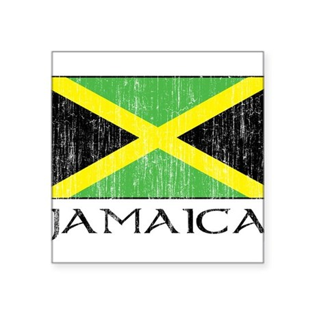 "1663232Jamaica.png Square Sticker 3"" x 3"""