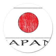 1663236 Japan.png Round Car Magnet