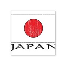 """1663236 Japan.png Square Sticker 3"""" x 3"""""""