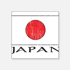 "1663236 Japan.png Square Sticker 3"" x 3"""