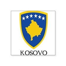 Coat_of_arms_of_Kosovo 2 DARK.png Square Sticker 3