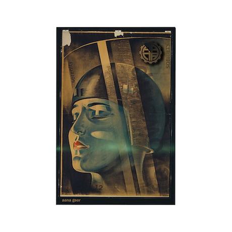 AANAGear Metropolis - Rectangle Magnet (100 pack)