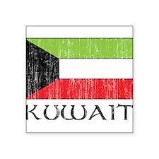 "1663248Kuwait.png Square Sticker 3"" x 3"""