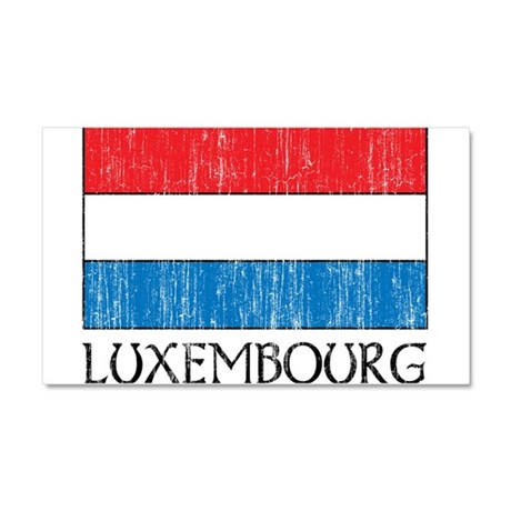 1663268Luxembourg .png Car Magnet 20 x 12