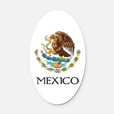 Coat of arms of Mexico Oval Car Magnet