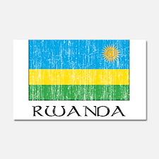 rwanda 00100002377 DARK.png Car Magnet 20 x 12