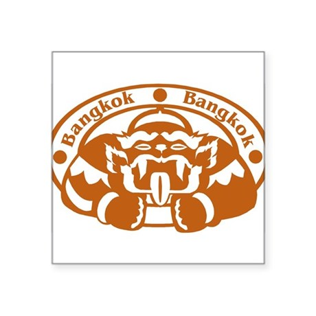 "21035472bangkok.png Square Sticker 3"" x 3"""