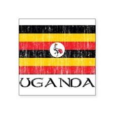 "uganda00100002437.png Square Sticker 3"" x 3"""