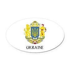 Greater_Coat_of_Arms_of_Ukraine DARK.png Oval Car