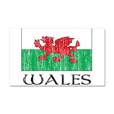 wales00100002461 LITE.png Car Magnet 20 x 12