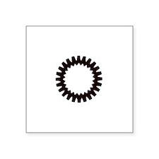 "celticspin61c.png Square Sticker 3"" x 3"""