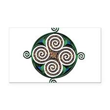 Celtic Symbol Rectangle Car Magnet