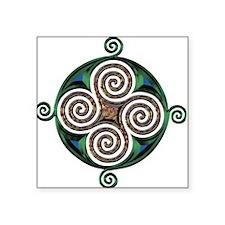 """Celtic Symbol Square Sticker 3"""" x 3"""""""