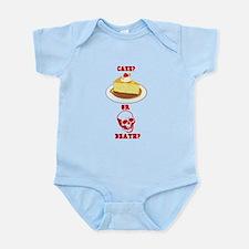 Cake or Death? Infant Bodysuit