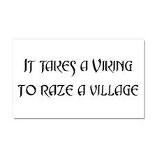 2-it takes a viking dark.png Car Magnet 20 x 12