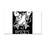 pisces.png Rectangle Car Magnet