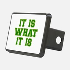It Is What It Is Green and Hitch Cover