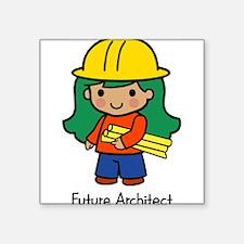 """20036195futurearchitect.png Square Sticker 3"""" x 3"""""""