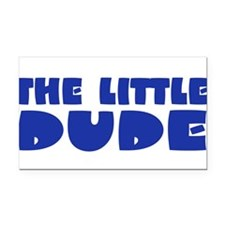 littledude2b.png Rectangle Car Magnet