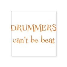 "drummers.png Square Sticker 3"" x 3"""