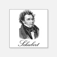 "262Schubert.png Square Sticker 3"" x 3"""